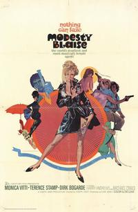 Modesty Blaise - 11 x 17 Movie Poster - Style A