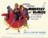 Modesty Blaise - 22 x 28 Movie Poster - Half Sheet Style A