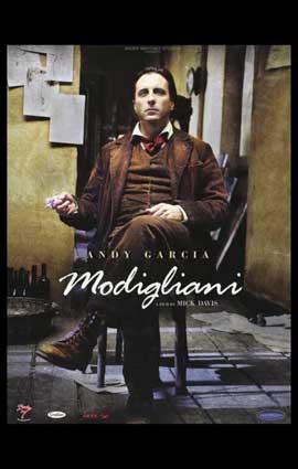 Modigliani - 11 x 17 Movie Poster - Style A