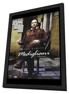 Modigliani - 27 x 40 Movie Poster - Style A - in Deluxe Wood Frame