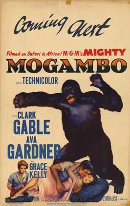 Mogambo - 27 x 40 Movie Poster - Style A