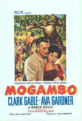 Mogambo - 11 x 17 Movie Poster - Belgian Style A