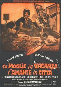 Moglie in vacanza... l'amante in citta, La - 11 x 17 Movie Poster - Italian Style A