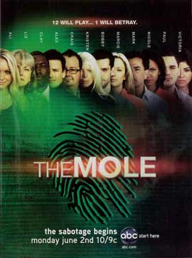 Mole, The (TV) - 11 x 17 TV Poster - Style A