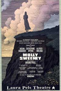 Molley Sweeney (Broadway) - 27 x 40 Poster - Style A