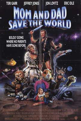 Mom and Dad Save the World - 11 x 17 Movie Poster - Style A