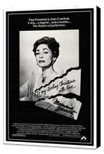 Mommie Dearest - 27 x 40 Movie Poster - Style A - Museum Wrapped Canvas