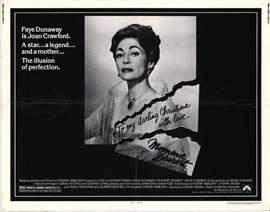 Mommie Dearest - 22 x 28 Movie Poster - Half Sheet Style A