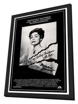 Mommie Dearest - 27 x 40 Movie Poster - Style A - in Deluxe Wood Frame