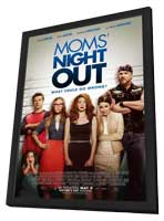 Mom's Night Out - 27 x 40 Movie Poster - Style A - in Deluxe Wood Frame
