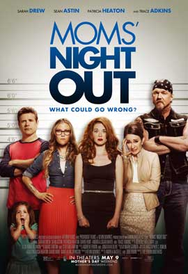 Mom's Night Out - 27 x 40 Movie Poster - Style A