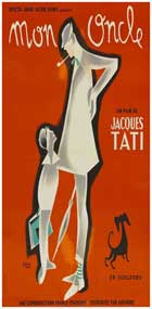Mon Oncle - 14 x 36 Movie Poster - French Style A