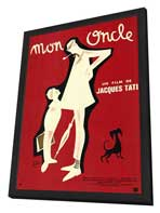 Mon Oncle - 11 x 17 Poster - Foreign - Style A - in Deluxe Wood Frame