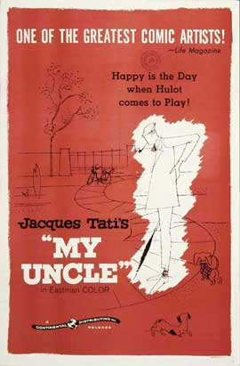 Mon Oncle - 11 x 17 Movie Poster - Style B