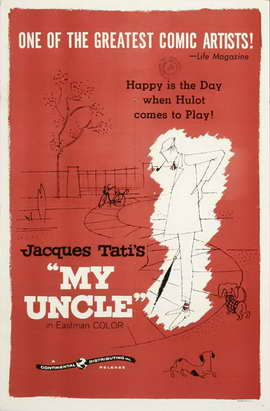 Mon Oncle - 27 x 40 Movie Poster - Style B