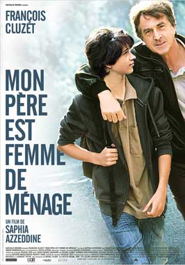 Mon pere est femme de menage - 43 x 62 Movie Poster - Bus Shelter Style A