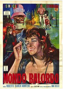 Mondo Balordo - 11 x 17 Movie Poster - Italian Style A