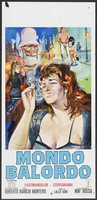 Mondo Balordo - 13 x 28 Movie Poster - Italian Style A