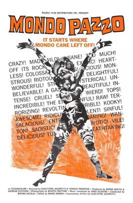 Mondo Cane 2 - 11 x 17 Movie Poster - Style A