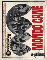 Mondo Cane - 22 x 28 Movie Poster - Half Sheet Style A