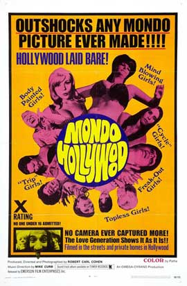 Mondo Hollywood - 11 x 17 Movie Poster - Style A