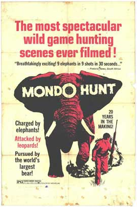 Mondo Hunt - 11 x 17 Movie Poster - Style A