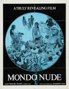 Mondo Nude - 27 x 40 Movie Poster - Style A