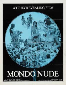 Mondo Nude - 11 x 17 Movie Poster - Style A