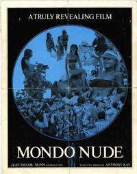 Mondo Nudo - 11 x 17 Movie Poster - Style A