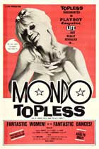 Mondo Topless - 27 x 40 Movie Poster - Style B