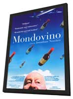Mondovino - 11 x 17 Movie Poster - Style B - in Deluxe Wood Frame