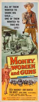 Money, Women and Guns - 14 x 36 Movie Poster - Insert Style A