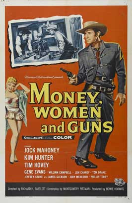 Money, Women and Guns - 11 x 17 Movie Poster - Style A