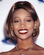Monica - Monica on Red Top Portrait