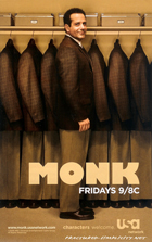 Monk - 11 x 17 TV Poster - Style N