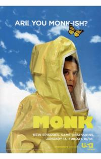 Monk - 11 x 17 TV Poster - Style B
