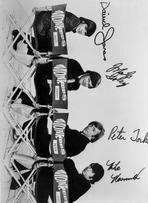 Monkees - Monkees in Black With White Background