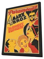 Monkey Business - 27 x 40 Movie Poster - Style A - in Deluxe Wood Frame