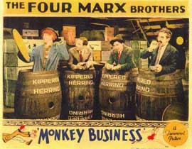 Monkey Business - 11 x 14 Movie Poster - Style A
