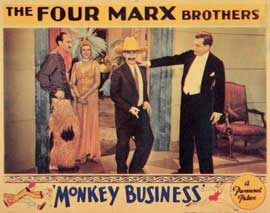 Monkey Business - 11 x 14 Movie Poster - Style B