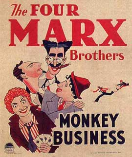 Monkey Business - 11 x 17 Movie Poster - Style C
