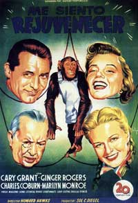 Monkey Business - 11 x 17 Movie Poster - Spanish Style C