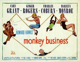 Monkey Business - 11 x 14 Movie Poster - Style C