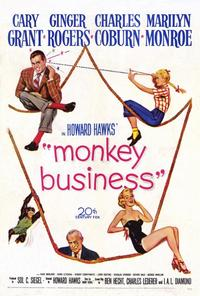 Monkey Business - 27 x 40 Movie Poster - Style A