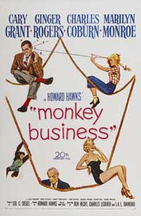 Monkey Business - 11 x 17 Movie Poster - Style B