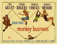 Monkey Business - 22 x 28 Movie Poster - Half Sheet Style A