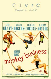 Monkey Business - 27 x 40 Movie Poster - Style C