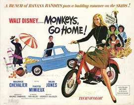 Monkeys, Go Home! - 11 x 14 Movie Poster - Style A