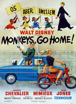 Monkeys, Go Home! - 27 x 40 Movie Poster - Danish Style A