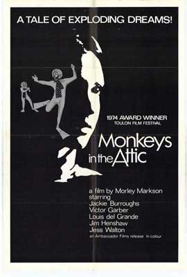 Monkeys in Attic - 11 x 17 Movie Poster - Style A